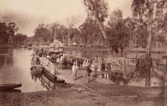 The Murray Crossing 1875 Echuca